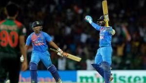 Nidahas Trophy final: Dinesh Karthik finishes it off in MS Dhoni style; see video