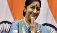 EAM Sushma Swaraj reaches Durban in South Africa