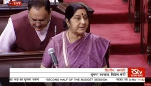 Parliament proceedings: 'All 39 Indians killed by ISIS in Iraq's Mosul, DNA samples of 38 have matched,' Sushma Swaraj