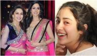 Janhvi Kapoor, Sridevi's daughter thanked Madhuri Dixit for signing her mother's film with Karan Johar