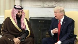 Saudi Prince Salman arrives in US on a three-day state visit