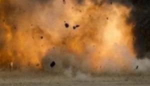 Two soldiers injured in landmine blast