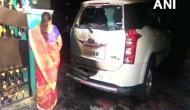 Petrol bomb hurled at BJP district secy's car