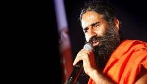 Baba Ramdev attends yoga camp in Haridwar