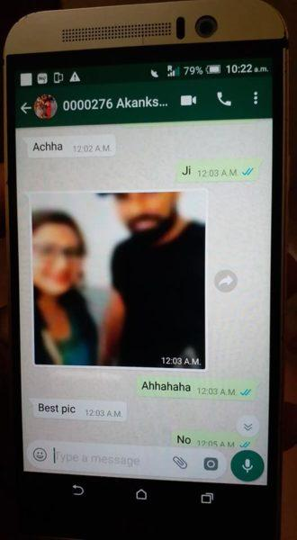 App for chatting with girl