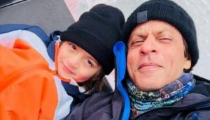 Gauri Khan, wife of Shah Rukh Khan shares adorable photo of AbRam with his father