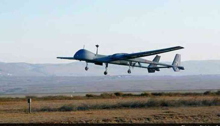 Indian Navy drone crashes soon after taking off