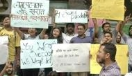 JNU students protest against 2 other professors alleging sexual harassment