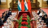 India, China press for peace, tranquillity in border areas