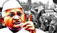 Social activist Anna Hazare begins hunger strike over Lokpal