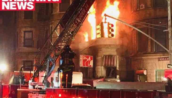 Firefighter Killed as Blaze Engulfs NYC Film Set