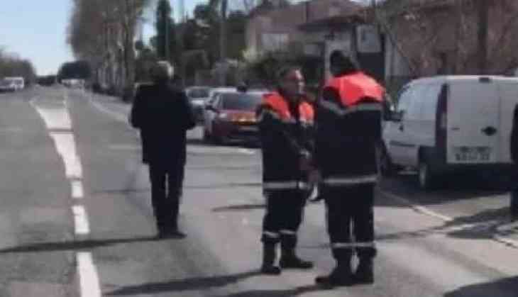 France Shooting: At least two dead after a gunman shouting 'Allahu Akbar' opens fire in Supermarket