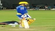 IPL 2018: विपक्षी टीमों को धोनी की हुंकार, पहली ही गेंद स्टेडियम के पार