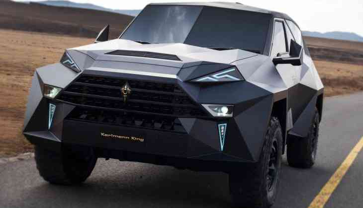 Karlmann King is world's most expensive SUV; video inside