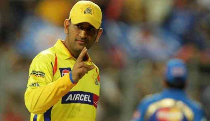 ipl 2018 captain cool ms dhoni stops practice session to play with