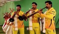 IPL 2018: धोनी ने इस अंदाज में मनाया CSK की वापसी का जश्न, वीडियो वायरल