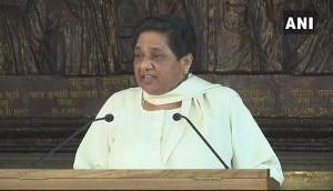Anti-Dalit elements conspired to kill me: Mayawati