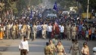 पुणे से मुंबई पहुंचा दलितों का मार्च, संभाजी भिडे की गिरफ्तारी की कर रहे हैं मांग