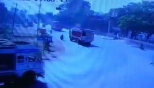 Video: मध्य प्रदेश के भिंड में पत्रकार को ट्रक से कुचला, वारदात CCTV में कैद