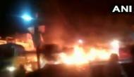 VIDEO: जब जान जोखिम में डालकर ड्राइवर ने सड़क पर भगाया बर्निंग ट्रक, बचाई कई लोगों की जान