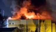 रूस के शॉपिंग मॉल में लगी भयानक आग, 37 की मौत