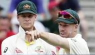 बॉल टैंपरिंग केस: क्रिकेट ऑस्ट्रेलिया ने स्मिथ और वार्नर पर लगाया एक साल का बैन