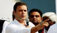 संविधान बचाओ रैली में राहुल गांधी का नया नारा 'BJP से बेटी बचाओ'