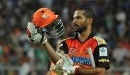 शिखर धवन ने छोड़ा सनराइजर्स हैदराबाद का साथ, इस टीम का बने हिस्सा!