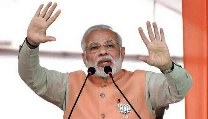 Modi delivers an inspiring speech in Bihar