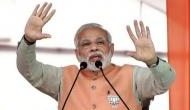 PM Narendra Modi flagged-off India's first electric high speed train 'Humsafar Express' at Champaran event