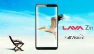 Lava Z91: फेेस अनलॉक, फुलव्यू डिस्प्ले और डबल वारंटी के साथ सस्ता फोन