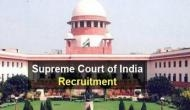 10वीं पास उम्मीदवारों के लिए Supreme Court में नौकरी करने का शानदार मौका