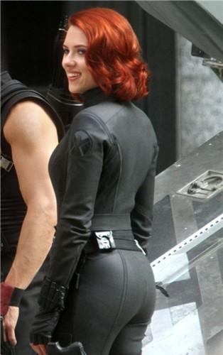 Ass of actress