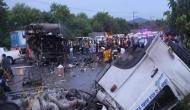 21 killed after bus catches fire in Thailand