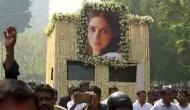Sridevi provided state funeral on CM's direction