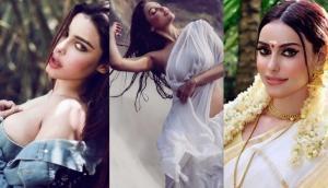 Ex-Bigg Boss contestant Gizele Thakral's wet saree look will remind you of Mandakini from Ram Teri Ganga Maili (Pics inside)