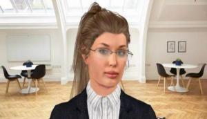 नौकरी के लिए कैंडिडेट का इंटरव्यू और सलेक्शन करती है ये लेडी रोबोट 'वीरा'