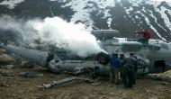 Uttarakhand: IAF Helicopter collides and catches fire during landing near Kedarnath temple; four people injured
