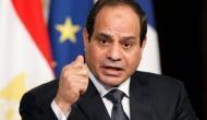 अल-सीसी दूसरी बार चुने गए मिस्र के राष्ट्रपति