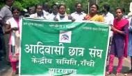 Bharat Bandh: Tribal community stage protest against baton charge by police