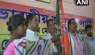 Former TMC, CPI-M leader join BJP