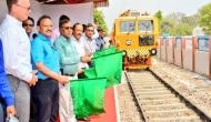 Railways introduces dynamic tamping express machines for track maintenance