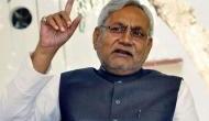 VIDEO: CM नीतीश कुमार पर युवक ने फेंकी चप्पल, आरक्षण को लेकर चल रही थी सभा