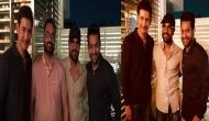 Superstars Mahesh Babu, Jr.NTR and Ram Charan party together all​ night at ​Bharat Ane Nenu's after party (Pics Inside)