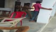 Sub-Inspector beats up rape accused with belt, video goes viral