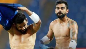 Virat Kohli says, 'If we win 2019 World Cup, we will walk around streets shirtless'