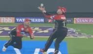 IPL2018: जब कैच लेने के लिए भिड़ गए डिविलियर्स और मैक्कुलम