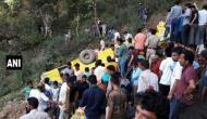हिमाचल प्रदेश: कांगड़ा में गहरी खाई में गिरी स्कूल बस, 26 बच्चों समेत 29 की मौत