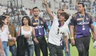 KKR की जीत के बाद शाहरुख और सुहाना ने कुछ इस अंदाज में मनाया जश्न, देखें तस्वीरें