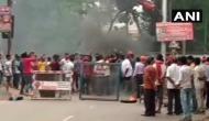 भारत बंद: बिहार के आरा में आगजनी, छात्रों ने रोकी रेल, मुजफ्फरनगर-हापुड़ में कर्फ्यू